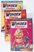 Pulps:Science Fiction, Wonder Stories Group (Standard, 1931-35) Condition: Average VG-....(Total: 5 Items)