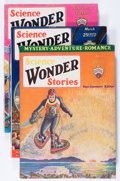 Pulps:Science Fiction, Science Wonder Stories Group (Stellar Publishing, 1929-48)Condition: Average VG.... (Total: 14 Items)