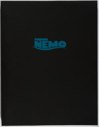 [Walt Disney]. [Screenplay]. Andrew Stanton, et al. SIGNED. Finding Nemo. Disney, 20