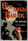 Books:Mystery & Detective Fiction, Sax Rohmer. Bimbashi Baruk of Egypt. McBride, 1944. Firstedition, first printing. Minor toning. Chipping to dj extr...