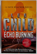 Books:Mystery & Detective Fiction, Lee Child. SIGNED. Echo Burning. Bantam, 2001. Firstedition, first printing. Signed by the author. Fine....