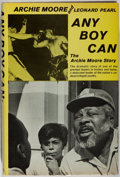 Books:Biography & Memoir, [Boxing]. Archie Moore. INSCRIBED. Any Boy Can.Prentice-Hall, 1971. First edition, first printing. Signed and...