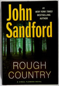 Books:Mystery & Detective Fiction, John Sandford. INSCRIBED. Rough Country. Putnam, 2009. Firstedition, first printing. Signed and inscribed by the ...