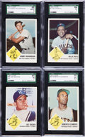 Baseball Cards:Sets, 1963 Fleer Baseball Complete Set (66) Plus Checklist. ...