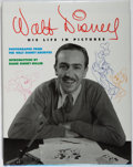 Books:Biography & Memoir, [Disney]. Russell Schroeder. SIGNED. Walt Disney: His Life in Pictures. Disney, 1996. First edition, first printing....