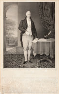 Prints, WILLIAM COBBETT . 18th century . 24-1/2 x 15-1/2 inches (62.2 x39.4 cm). Lithograph by N. Maurin. Elton Hyder III Collect...