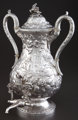 A KIRK SILVER HOT WATER URN Samuel Kirk & Son, Baltimore, Maryland, circa 1861-1868 Marks: S. KIRK & SON...