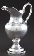 Silver Holloware, American:Creamers and Sugars, A HISTORICALLY IMPORTANT JONES, BALL & POOR COIN SILVER PRESENTATION CREAM JUG . Jones, Ball & Poor, Boston, Massachusetts...