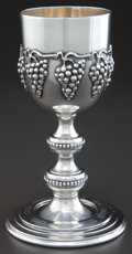 Silver Holloware, American:Cups, A WM. B. MEYERS & CO. SILVER KIDDUSH CUP . William B. Meyers& Co., Newark, New Jersey, circa 1948. Marks: M, STERLING,HA...