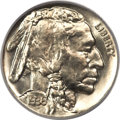 Proof Buffalo Nickels, 1936 5C Type One -- Satin Finish PR67 PCGS Secure. CAC....