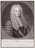 Prints, MICHAEL DAHL (Swedish, 1656-1743). The Right Honorable PhilipLord Hardwicke, 18th century . Engraving. 13-1/2 x 10 inch...