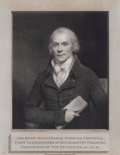 Prints, SIR WILLIAM BEECHEY (British, 1753-1839). Spencer Perceval,First Commissioner of His Majesty's Treasury, 19th century. ...