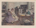 "Prints, WALTER DENDY SADLER (British, 1854-1923). The New Will:""Everything to my Wife Absolutely"", 19th century. Etching. 16 x..."