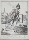 Prints, SIR FRANCIS DRAKE. Etching. 15-1/2 x 11 inches (39.4 x 27.9cm). Elton Hyder III Collection Formerly at the Un...