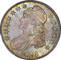 Bust Half Dollars, 1828 50C Square Base 2, Small 8, Large Letters MS64 PCGS. CAC.O-110, R.2....