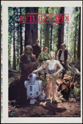"Movie Posters:Science Fiction, Return of the Jedi (20th Century Fox, 1983). Printer's Proof Poster (25"" X 38""). Science Fiction.. ..."