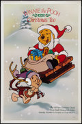 "Movie Posters:Animated, Winnie the Pooh and Christmas Too (ABC Television, 1991). TV OneSheet (27"" X 41""). Animated.. ..."