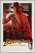 "Movie Posters:Adventure, Indiana Jones and the Temple of Doom (Paramount, 1984). One Sheet(27"" X 41"") Advance - White Background. Adventure.. ..."