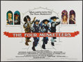 """Movie Posters:Swashbuckler, The Four Musketeers (20th Century Fox, 1975). British Quad (30"""" X 40""""). Swashbuckler.. ..."""