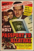 """Movie Posters:Action, Passport to Alcatraz (Columbia, 1940). One Sheet (27"""" X 41""""). Action.. ..."""