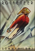 """Movie Posters:Action, The Rocketeer (Walt Disney Pictures, 1991). Autographed One Sheet (27"""" X 40""""). Action.. ..."""