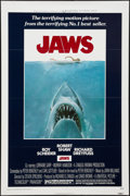 "Movie Posters:Horror, Jaws (Universal, 1975). One Sheet (27"" X 41"") Flat Folded. Horror....."