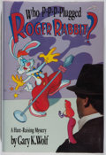 Books:Mystery & Detective Fiction, Gary K. Wolf. Who P-P-P-Plugged Roger Rabbit. Villard Books,1991. First edition, first printing. Fine....