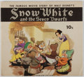 Books:Art & Architecture, [Walt Disney]. Snow White and the Seven Dwarfs: The Famous Movie Story. K. K. Publications, 1938. First edition, fir...