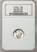 Mercury Dimes: , 1935 10C MS66 Full Bands NGC. NGC Census: (298/112). PCGSPopulation (783/236). Mintage: 58,830,000. Numismedia Wsl. Price...