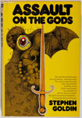 Books:Science Fiction & Fantasy, Stephen Goldin. SIGNED/LIMITED. Assault On the Gods. Doubledey, 1977. First edition, first printing. Limited t...