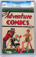 Platinum Age (1897-1937):Miscellaneous, New Adventure Comics #21 Billy Wright pedigree (DC, 1937) CGC GD2.0 Off-white pages....