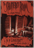 Books:Horror & Supernatural, H. P. Lovecraft. The Shuttered Room and Other Pieces. Arkham House, 1959. First edition, first printing. Minor tonin...