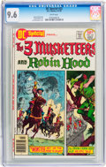 Bronze Age (1970-1979):Miscellaneous, DC Special #22 3 Musketeers and Robin Hood (DC, 1976) CGC NM+ 9.6White pages....