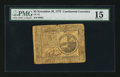 Colonial Notes:Continental Congress Issues, Continental Currency November 29, 1775 $2 PMG Choice Fine 15.. ...