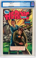 Golden Age (1938-1955):Non-Fiction, Heroic Comics #68 File Copy (Eastern Color, 1951) CGC NM 9.4 Creamto off-white pages....