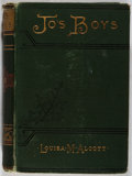 Books:Literature Pre-1900, Louisa M. Alcott. Jo's Boys. Roberts Brothers, 1886. Firstedition, first printing. Spine leaning and chipping t...