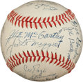 Autographs:Baseballs, 1946 New York Yankees Team Signed Baseball....