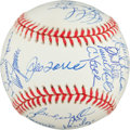 Autographs:Baseballs, 1998 New York Yankees Team Signed Baseball....