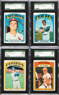 Baseball Cards:Sets, 1972 Topps Baseball Mid To High Grade Near Set (778/787). ...
