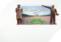 "Football Collectibles:Photos, 2003 Brett Favre Signed ""The Legend Continues"" Panoramic OversizedPrints Lot of 26...."