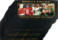 """Football Collectibles:Photos, 2000 Brett Favre """"Passing Through the Years"""" Signed Oversized Photograph Prints Lot of 50. ..."""
