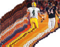 Football Collectibles:Photos, 2000 Brett Favre Signed Oversized Photographs Lot of 29....