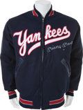 Autographs:Jerseys, Early 1990's Mickey Mantle Signed Jacket....