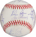 Autographs:Baseballs, 1969 New York Mets Reunion Team Signed Baseball....