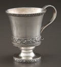 Silver Holloware, American:Cups, A TIFFANY & CO. SILVER AND SILVER GILT WINE CUP . Tiffany &Co., New York, New York, circa 1890. Marks: TIFFANY,STERLING,...