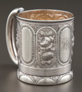 Silver Holloware, American:Cups, A GORHAM SILVER AND SILVER GILT MUG . Gorham Manufacturing Co.,Providence, Rhode Island, 1878. Marks: (lion-anchor-G),ST...
