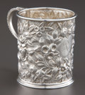 Silver Holloware, American:Cups, A KIRK SILVER MUG . S. Kirk & Son, Baltimore, Maryland, circa1903-1907. Marks: S. KIRK & SON. 2-7/8 inches (7.4 cm).4....