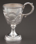 Silver Holloware, American:Cups, AN AMERICAN COIN SILVER WINE CUP . Maker unknown, American, circa1875. Marks: (lion passant), BAILEY & CO. . 6-3/8inch...