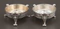 Silver Holloware, American:Open Salts, A PAIR OF GEORGE SHARP SILVER AND SILVER GILT SALTS . George B.Sharp, Philadelphia, Pennsylvania, circa 1880. Marks: (lion-...(Total: 2 Items)