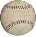 Autographs:Baseballs, 1929 Chicago White Sox Team Signed Baseball....
